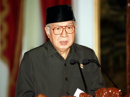 ซูฮาร์โต้ ผู้นำอินโดนีเซีย
