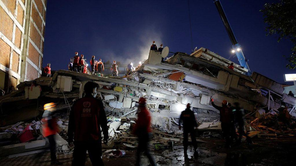 แผ่นดินไหวที่ประเทศตุรกี