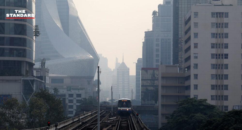 ฝุ่น PM 2.5 ในกรุงเทพฯที่หนาแน่น