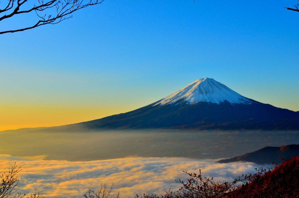 หิมะแรกที่ประเทศญี่ปุ่น