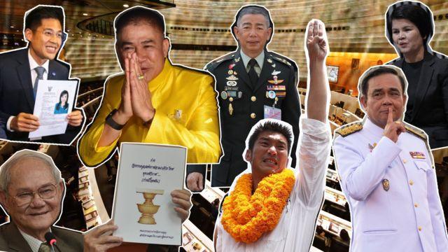 การเมืองไทยในปัจจุบัน