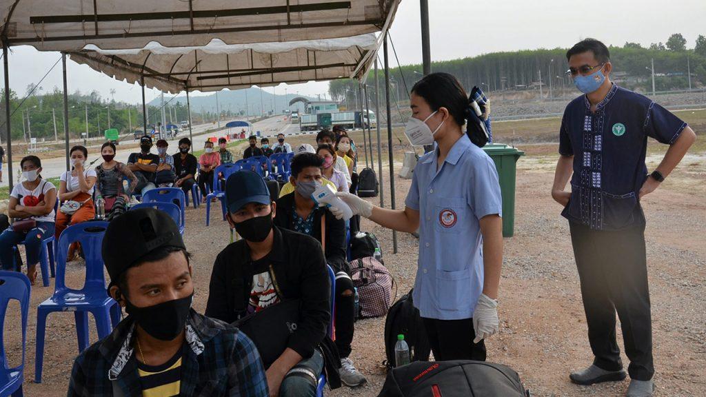 แรงงานพม่าทำให้เกิดโควิดอีกครั้ง