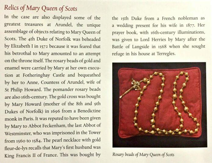 สร้อยลูกปัด ของราชินีสก็อตที่ถูกขโมยไป